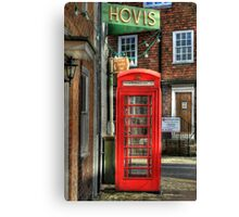 Two icons of Britain  Canvas Print