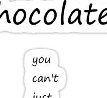 Cockerpoos are like chocolates Sticker