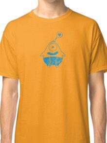 blaues monster mit herz Classic T-Shirt