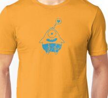 blaues monster mit herz Unisex T-Shirt