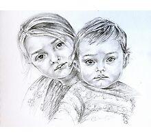 Double portrait Photographic Print