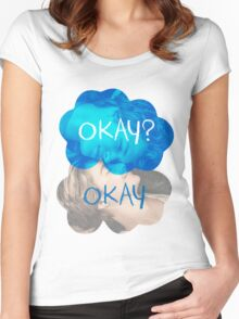Okay? Okay Women's Fitted Scoop T-Shirt