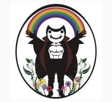 Happy Rainbow Vampire!! by beccazombie69
