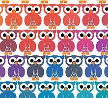 Power Owl by HalamoDesigns