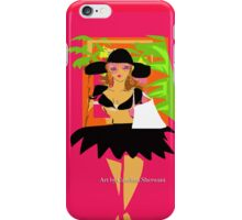 Beach Pink Glamour iPhone Case/Skin