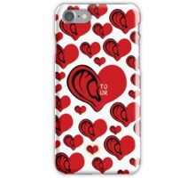 Listen To Your Heart  iPhone Case/Skin
