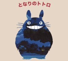 Totoro blue by Attare
