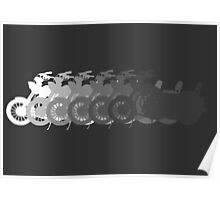 Motorcycle shades Poster