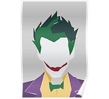 Minimalist Joker Poster