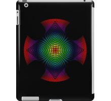 3d spectral pyramid cross iPad Case/Skin