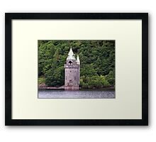 A Gothic Revival Straining Tower Framed Print