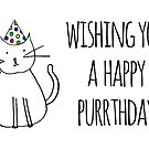 Wishing You A Happy Purrthday by rexannakay