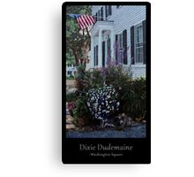 Washington Square Canvas Print