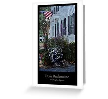 Washington Square Greeting Card