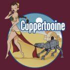 Coppertooine - Slave Leia by Todd Robinson