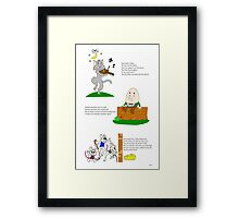Nursery Rhyme Team Up! Framed Print