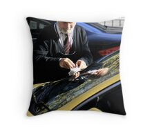 The Cabbie. Throw Pillow