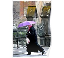 Purple Umbrella. Poster