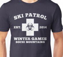 Sochi Winter Games Bio Hazard Ski Patrol T Shirt Unisex T-Shirt