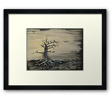 The Possessed Tree  Framed Print
