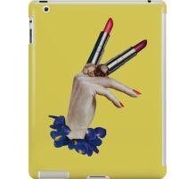 "H A N D S T I C K ""V"" iPad Case/Skin"
