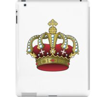 Crown Red iPad Case/Skin