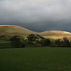 Evening Light on the Howgills Sedbergh UK by albyw