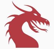 Dragon Head Red Kids Clothes