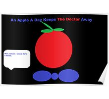 An Apple A Day Keeps The Doctor Away Poster