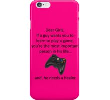 His Girl iPhone Case/Skin