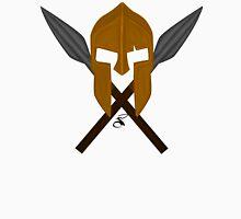 Spartan helmet crossed spears Unisex T-Shirt