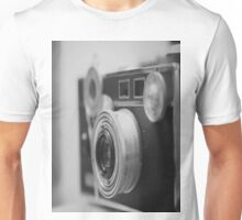 Camera Black White Unisex T-Shirt