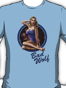 Bad Wolf - Aircraft Pin Up Girl T-Shirt
