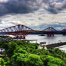 The Bridge under Cloudy Skies by Tom Gomez