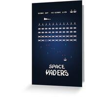 Space Vaders Greeting Card