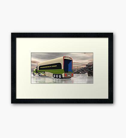 Ice Road Trucking - version 2 Framed Print