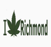 0250 I Love Richmond by Ganjastan