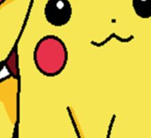 Pika and Ash's hat Sticker