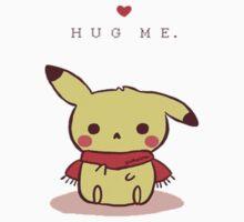 Hug me Pika by dervmcd