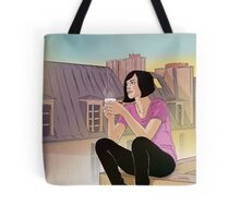Woman Roof Tote Bag