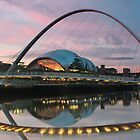 Millenium Bridge - Newcastle by scottalexander