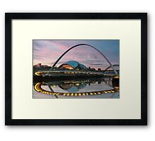 Millenium Bridge - Newcastle Framed Print