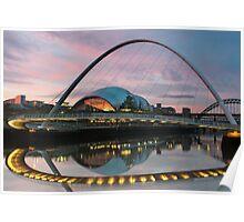 Millenium Bridge - Newcastle Poster