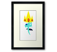 Simon and Ice King Framed Print