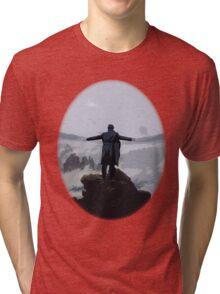 Sherlock above the Sea of Fog Tri-blend T-Shirt