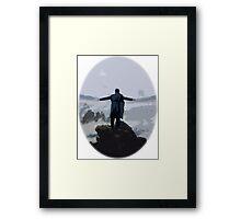 Sherlock above the Sea of Fog Framed Print