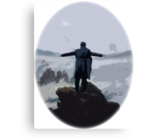 Sherlock above the Sea of Fog Canvas Print