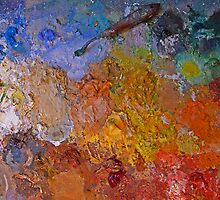 Artists Palette - Colour Medley by Mark Haynes Photography