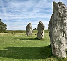 Avebury neolithic stone circle Wiltshire by Martyn Franklin