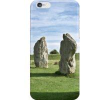 Avebury neolithic stone circle Wiltshire iPhone Case/Skin